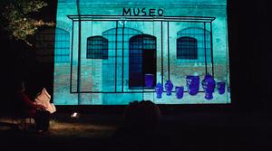 LIVE DJ VJ SET MUSEO ZAULI