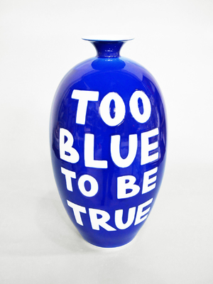 TOO BLUE TO BE TRUE