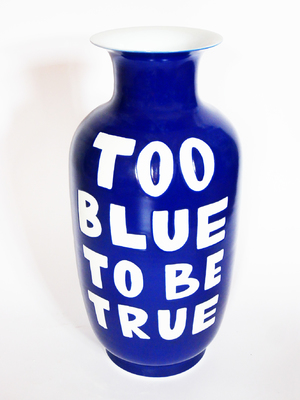 TOO BLUE TO BE TRUE (BIG)