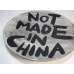 NOT MADE IN CHINA PLATE #15